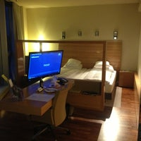 Photo taken at Four Points by Sheraton Panoramahaus Dornbirn by Thomas S. on 7/28/2013
