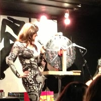 Photo taken at Le Poisson Rouge by Abby on 3/23/2013