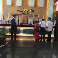 Photo taken at Menara Suruhanjaya Syarikat Malaysia (SSM) by Haliza B. on 6/30/2016
