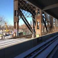 Photo taken at CTA - Ashland by BTRIPP on 1/25/2014