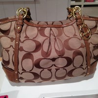 Photo taken at Coach Factory Outlet by cb m. on 4/23/2013