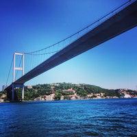 Photo taken at Bosphorus Bridge by Bruno B. on 6/20/2013