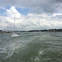 Photo taken at Hamble Point Marina by Kc C. on 6/14/2014