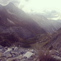 Photo taken at Col de la Croix De Fer by Ann L. on 10/9/2014