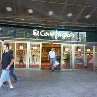 Photo taken at El Corte Inglés by Sergio D. on 6/12/2013