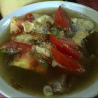 Photo taken at Soto Betawi H. Mamat by Christy M. on 12/25/2012