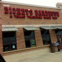 Photo taken at Dickey's Barbecue Pit by Andrea P. on 5/27/2013