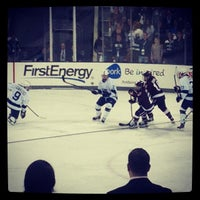 Photo taken at Pegula Ice Arena by Yizzle Y. on 10/19/2013