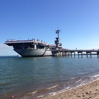 Photo taken at USS Lexington Museum On The Bay by Zeynep💐 on 11/30/2013