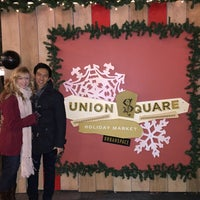 Photo taken at Union Square Holiday Market by Christopher M. on 12/20/2015