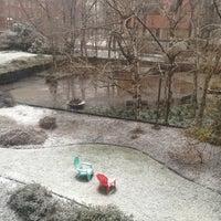 Photo taken at Founder's Garden by Steven on 3/25/2013