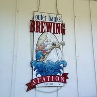 Photo taken at Outer Banks Brewing Station by AJ on 6/28/2013