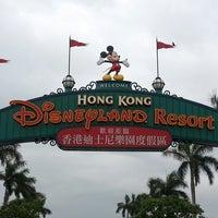 Photo taken at Hong Kong Disneyland by Jeremy B. on 4/26/2013