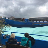 Photo taken at Queen's Club by Joan L. on 6/14/2016