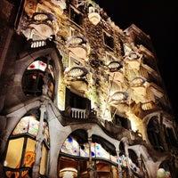 Photo taken at Casa Batlló by Oliver S. on 6/20/2013