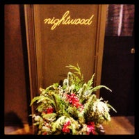 Photo taken at Nightwood Restaurant by Andrew M. on 1/5/2013