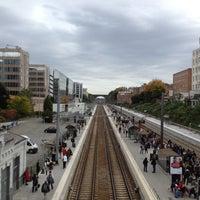 Photo taken at Gare d'Etterbeek / Station Etterbeek by Francois L. on 10/18/2012