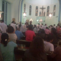Photo taken at Church of Our Lady of Sorrows by claire m. on 6/2/2013