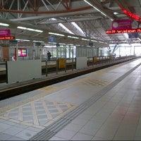 Photo taken at Stesen Sentral Kuala Lumpur by claire m. on 7/15/2013