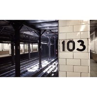 Photo taken at MTA Subway - 103rd St (1) by Trent O. on 8/2/2013