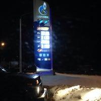 Photo taken at Газпромнефть АЗС № 70 by Dennis S. on 12/13/2013