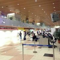 Photo taken at Kuching International Airport (KCH) by Aldrin T. on 6/4/2013