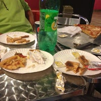Photo taken at Monster Pizza by Yuliana B. on 4/23/2013