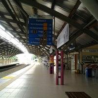 Photo taken at KTM Line - Kepong Sentral Station (KA07) by Azmi M. on 4/13/2013