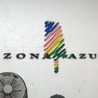 Photo taken at Las Aguas Zona Azul by Arturo V. on 5/2/2013