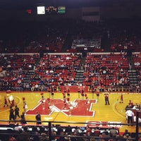 Photo taken at Bob Devaney Sports Center by Melissa F. on 11/8/2012