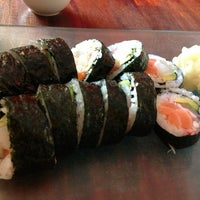 Photo taken at Eat Sushi & More by Synnøve L. on 4/4/2013