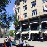 Photo taken at Orell Füssli - The Bookshop by Tamara G. on 8/3/2015