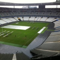 Photo taken at Stade de France by Laura J. on 1/29/2014