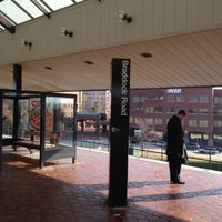 Photo taken at Braddock Road Metro Station by Kevin K. on 11/29/2012
