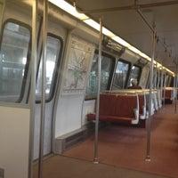 Photo taken at WMATA Yellow Line Metro by Kevin K. on 12/11/2012