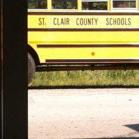Photo taken at St Clair County High School by Kymbralee B. on 8/17/2011