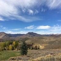 Photo taken at Sun Valley, Idaho by Ben F. on 10/7/2013