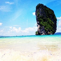 Photo taken at Poda Island by Pramote T. on 10/6/2012
