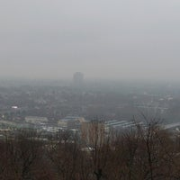 Photo taken at Lehigh University Lookout by Mike N. on 12/26/2016