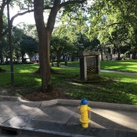 Photo taken at Bienville Square by Connie D. on 7/25/2016