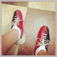 Photo taken at AMF All Star Lanes by James B. on 8/18/2013