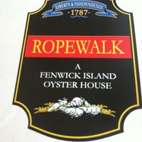 Photo taken at Ropewalk - A Fenwick Island Oyster House by Kristin B. on 6/16/2013