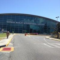 Photo taken at Norman Manley International Airport (KIN) by Kemar H. on 4/11/2013