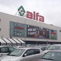 Photo taken at Alfa by Vadim G. on 4/14/2013