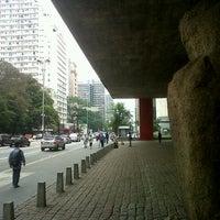 Photo taken at São Paulo Museum of Art by Rachel M. on 11/3/2012