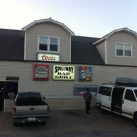 Photo taken at Spillway Bar and Grill by Johnny E. on 4/13/2013