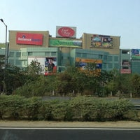 Photo taken at Ansal Plaza, Greater Noida by Diptangshu M. on 12/14/2012