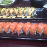 Photo taken at Fusion Sushi by Masashi K. on 9/3/2013