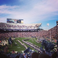 Photo taken at Beaver Stadium by Jerry L. on 11/16/2013