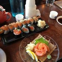 Photo taken at Domo Sushi by Erin C. on 5/31/2013